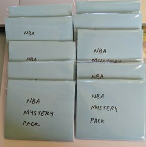 NBA Basketball Card Mystery Pack 10 cards Guarunteed Rookies and Superstar Cards