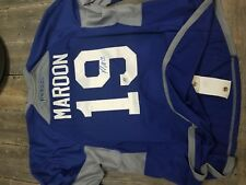 Patrick MAROON WORN AND SIGNED JERSEY OILERS