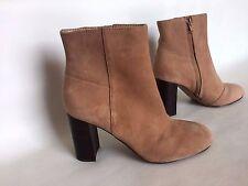 Banana Republic Hannah Bootie  Women Boots, Suede, Biscotti, Size 6M