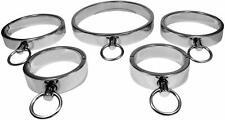Edelstahl Halsband Handschellen Set 5-teilig