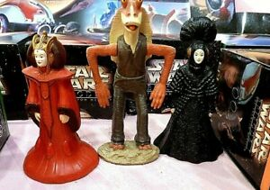 Star Wars Trilogy Lot 11 Kids Meals 1996-1997 Phantom Menace Jar Jar Yoda TACO B