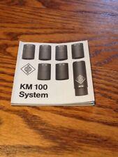 GEORG NEUMANN KM 100 SYSTEM MICROPHONE BROCHURE
