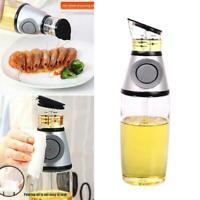 1Pc 250Ml Glas Olivenöl Zufuhr Flaschen Leakproof Glas Menage Ölflasche B4Z9