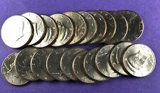 Roll of 1993-P Uncirculated Kennedy Half Dollars