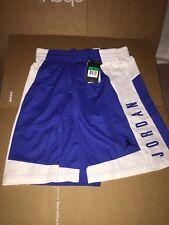 Nike Air Jordan Dri Fit Blue White Basketball Short Size XL 899375 480