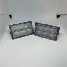 Land rover Freelander 2 NEW LED LICENSE NUMBER PLATE LAMP LIGHTS & BULBS (X2)