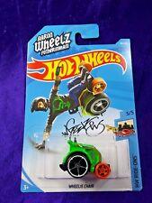 Hot Wheels Wheelie Chair Hw Ride-Ons #5/5 Green Die-Cast 1:64 Scale New Release
