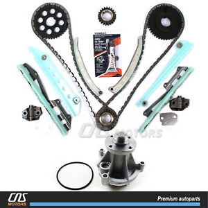 Timing Chain Kit & Water Pump for 97-02 Ford Expedition E-150 F-150 F-250 4.6L