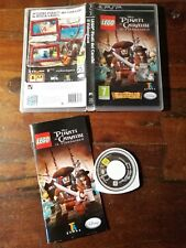 Lego Pirati dei Caraibi Il Videogioco Psp Sony Edizione Italiana Ottima Completa