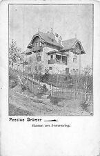 B7489 Semmering Pension Bromer Austria NO