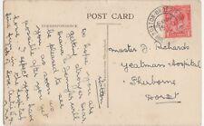 Master Richards, Yeatman Hospital, Sherborne, Dorset Postcard, B332