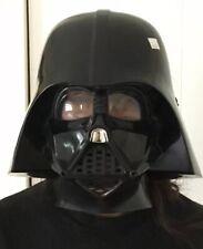 Star Wars Darth Vader Mask Plastic 2005 Elastic Half Head Rubie's Costumes