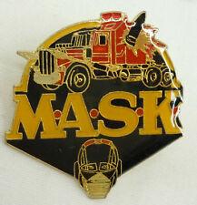 Vintage Kenner M.A.S.K. MASK Logo enamel Pin
