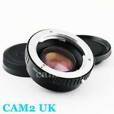 Focal Reducer Speed Booster Adapter Minolta MD lens to Fujifilm X Fuji Pro1 FX
