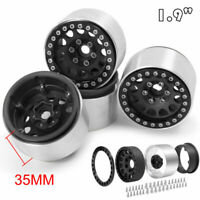 "1.9"" Aluminum Beadlock Wheel Rim For 1/10 RC Crawler Axial SCX10 TRX-4 D90 CC01"