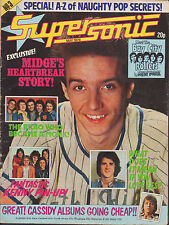 Supersonic Magazine No.3  May 1976   Midge Ure of Slik  Kenny  Bay City Rollers