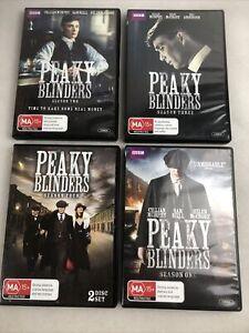 Peaky Blinders Complete Series 1-4 DVD BBC UK TV Series R4 PAL Free Postage