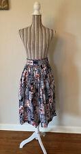 New listing Vintage 40s/50s Hawaiian Tiki Cotton Skirt Spearfishing Xs