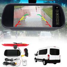 For Ford Transit Sprinter 7'' LCD Monitor Brake Light Rear View Reversing Camera