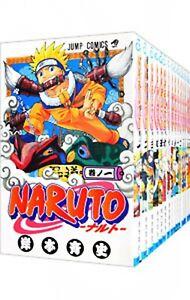 Naruto 【Japanese language】 Vol.1-72 set Manga Comics Full Complete