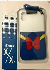 Disney Park D-Tech iPhone Case X / XS ••Donald Duck Classic Sailor Hat/Bow New!