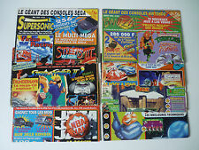 Lot de 7 Magazines Banzzai Supersonic - Nintendo Sega