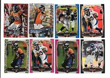 2014 TOPPS CHROME DENVER BRONCOS TEAM LOT (34) NO DOUBLES,MANNING,THOMAS,RC'S