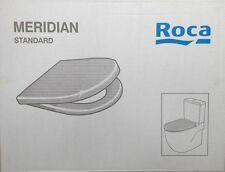 Roca Meridian STANDARD Sedile WC & Coperchio con chiusura soft CERNIERE 8012a2004