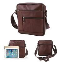 Umhängetasche Schultertasche Tasche kleine Handtasche Herren Damen Leder Bag