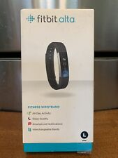 Fitbit Alte Brand New Fitness Wristband Size L Black Measure Heart Sleep Exercis