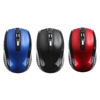 Sem Fio Portable 2.4Ghz Wireless Optical Gaming Mouse Gamer Mice for PC Laptop