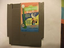 Sesame Street 123 NES NIntendo Video Game Tested and Working