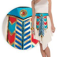 NUOVO Donna Oro Cleopatra Egiziano Goddess Cintura Regina Nilo Costume Accessorio
