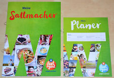 Weight Watchers Sattmacher Starter Set-SmartPoints Starten Liste + Tagebuch 2016