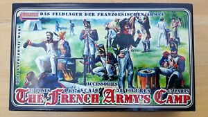 Strelets 1/72 The French Army's Camp Napoleonic figures set 0001 boxed, unopened