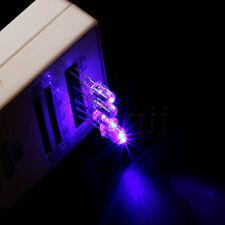 50pcs 5mm UV / violet 1000 mcd LED Bulb Light lampe 2pin Round Top HG