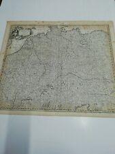 Um 1700. Karte von Deutschland v. Iusto Danckerts. Germaniae