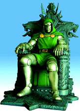 Marvel Milestone Doctor Dr. Doom on Throne Statue Art Asylum Diamond Select 2006