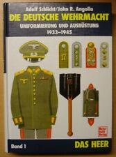 Die Deutsche Wehrmacht Heer Uniformen Ausrüstung 1933-45 Schlicht Angolia Buch