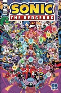 Sonic the Hedgehog #37 Cover B NM 2021 IDW - Vault 35