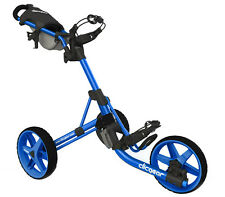 Golftrolley Clicgear 3.5+, 3-Rad, das neueste Modell, Farbe: all-blue Neuheit!