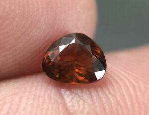 1.10 CT Bastnaesite cut gemstone from Zagi Pakistan