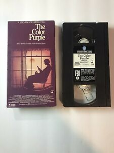 The Color Purple (VHS, 1991) Featuring Whoopi Goldberg & Danny Glover