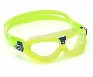 Aqua Sphere Seal Kid 2 - Kids Swimming Goggles - Clear Lens - Lime (186010)