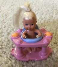 Krissy Chrissy Nikki Barbie Size Baby Barbie Blonde Hair In Fisher Price Walker