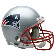 NEW ENGLAND PATRIOTS RIDDELL NFL FULL SIZE AUTHENTIC PROLINE FOOTBALL HELMET