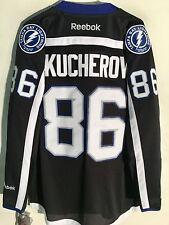 Reebok Premier NHL Jersey Tampa Bay Lightning Nikita Kucherov Black Alt sz M