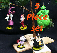 Nightmare Before Christmas Tree Ornament Lot Shock, Barrel & Lock, Mayor Boogie