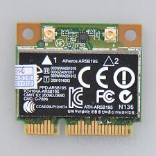 AR5B195 AR9285 WiFi 300Mbps 802.11n AR3011 Bluetooth 3.0 HS Half Mini PCI-e Card