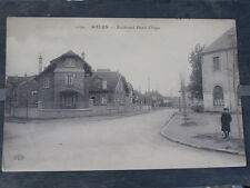 cpa 77 seine et marne MELUN Boulevard henri chapu en 1906